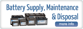 Power Saver Battery Supply, Maintenance, Disposal